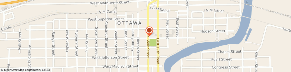 Route/map/directions to STATE FARM Verne Dooley, 61350 Ottawa, 1001 Lasalle Street