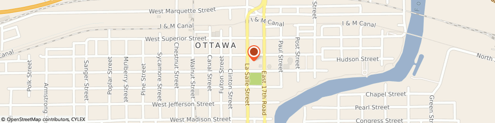 Route/map/directions to American Family Insurance- Randall Repp, 61350 Ottawa, 1028 LA SALLE ST # 2