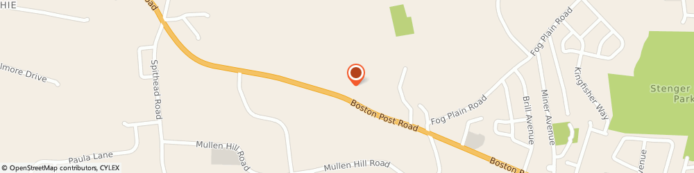 Route/map/directions to Bank of America, 06385 Waterford, 68 BOSTON POST RD (RT 1)
