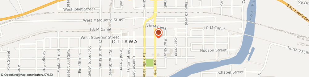Route/map/directions to Safeco Insurance Agent, 61350-2106 Ottawa, 1131 Columbus St