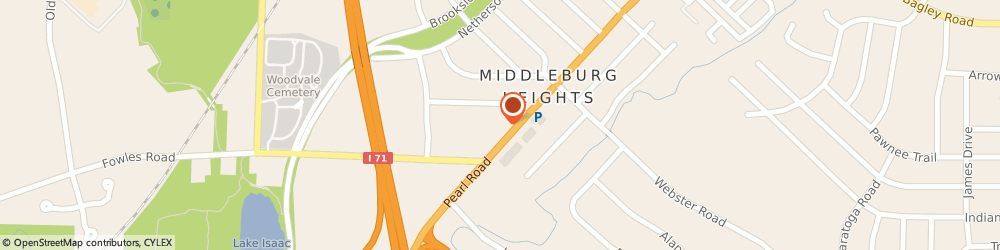Route/map/directions to Fatica Insurance Agency, 44130 Middleburg Heights, 7550 PEARL RD