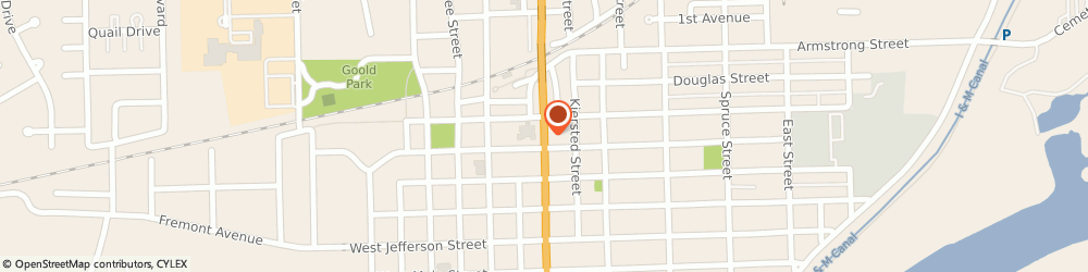 Route/map/directions to Farmers Insurance - Joshua Matheny, 60450 Morris, 717 N Division St