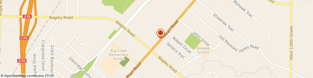 Route/map/directions to Citizens Bank, 44130 Middleburg Heights, 15050 Bagley Rd