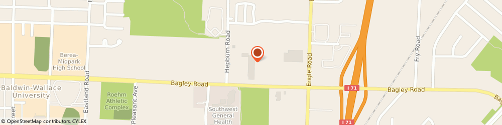 Route/map/directions to H&R Block, 44130 Middleburg Heights, 18334 Bagley Rd