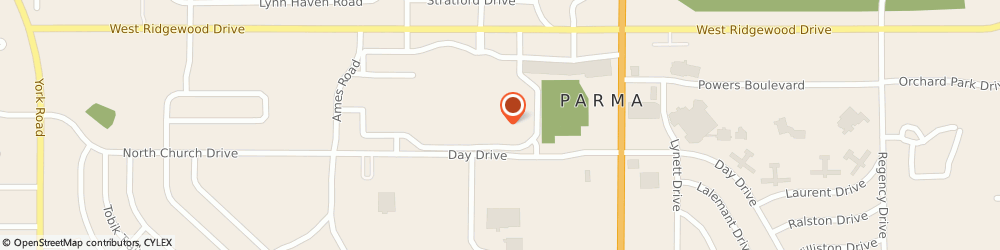 Route/map/directions to JCPenney, 44129 Parma, 7900 Day Dr