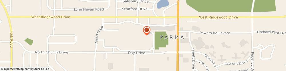 Route/map/directions to Radioshack, 44129 Parma, 7897 W Ridgewood Dr #480