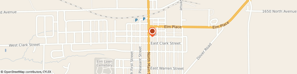 Route/map/directions to Psychic Readings By Val, 61356 Princeton, 927 NORTH MAIN STREET