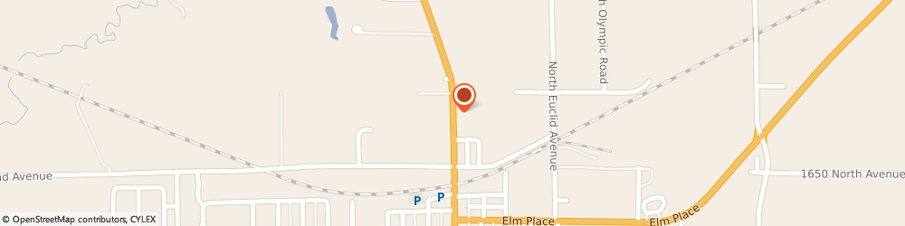 Route/map/directions to BMO Harris Bank, 61356 Princeton, 1407 NORTH MAIN STREET