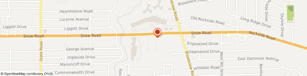Route/map/directions to Radio Shack Parma, 44134 Parma, 1765 Snow Road