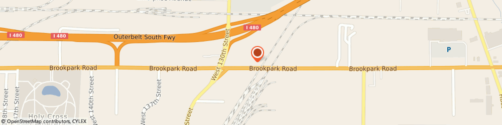 Route/map/directions to Allied, 44130 Cleveland, 12800 Brookpark Road
