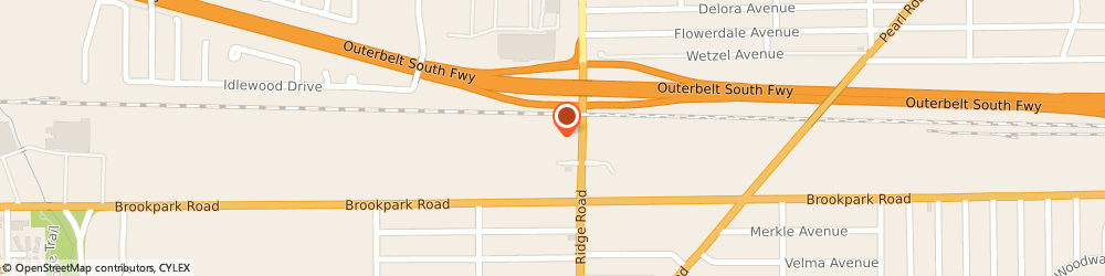 Route/map/directions to Best Buy, 44129 Cleveland, 7400 Brookpark Rd