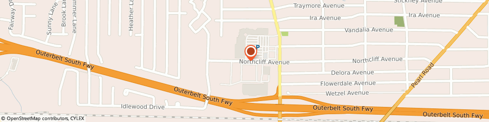 Route/map/directions to Radio Shack, 44144 Brooklyn, 7317 Northcliff Ave