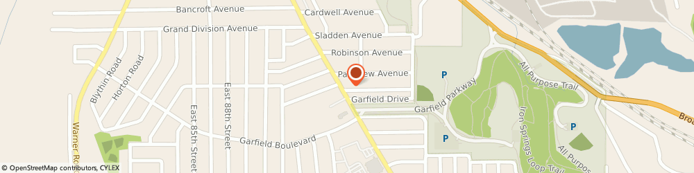 Route/map/directions to Post 3445 Garfield Heights Post, 44125 Cleveland, 4727 Turney Rd
