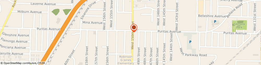 Route/map/directions to Sunoco, 44135 Cleveland, 15009 Puritas Road