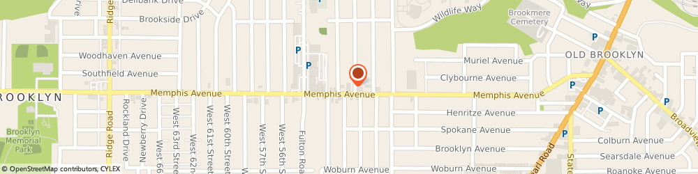 Route/map/directions to The American Legion - Theodore Roosevelt Post 469, 44144 Cleveland, 4910 Memphis Ave