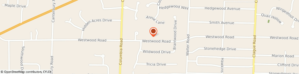Route/map/directions to The Church of Jesus Christ of Latter-day Saints, 44145 Westlake, 25000 Westwood Road