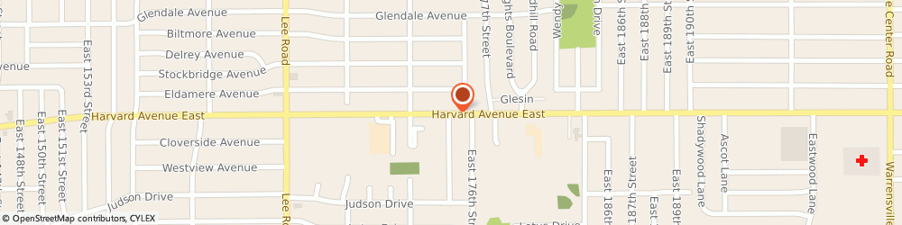 Route/map/directions to Sunoco, 44128 Cleveland, 17501 Harvard Avenue
