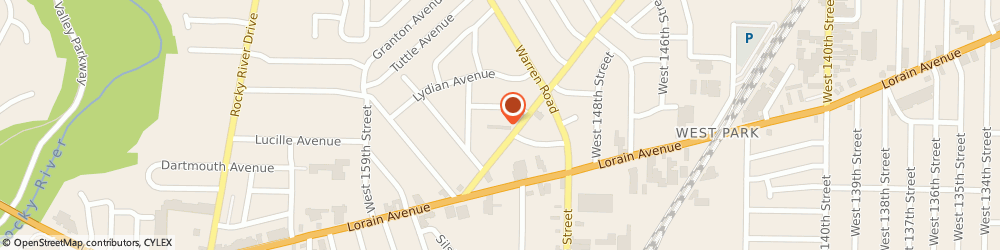 Route/map/directions to Ashby Terrace Apartments, 44111 Cleveland, 15320 TRISKETT RD APT 1