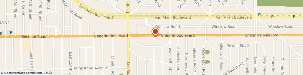 Route/map/directions to Al Nola Shoe Repair & Luggage, 44120 Cleveland, 16830 Chagrin Blvd