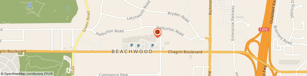 Route/map/directions to Giant Eagle Pharmacy, 44122 Cleveland, 24601 Chagrin Blvd