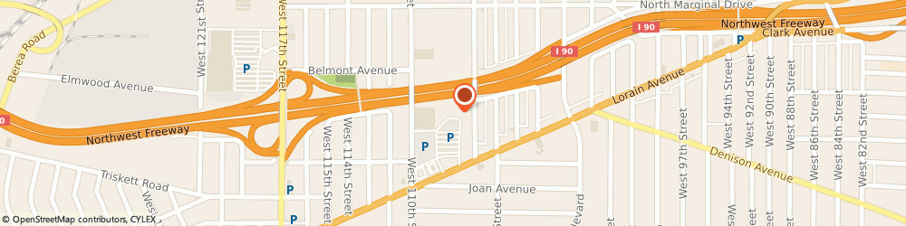 Route/map/directions to Radioshack, 44111 Cleveland, 10740 Lorain Road