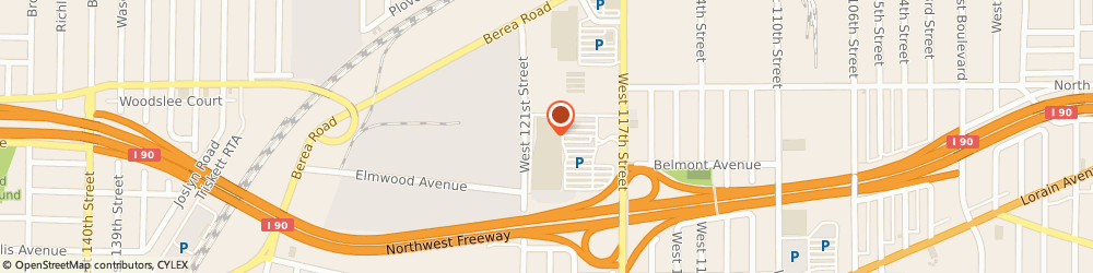 Route/map/directions to Giant Eagle Pharmacy, 44111 Cleveland, 3050 W 117Th St