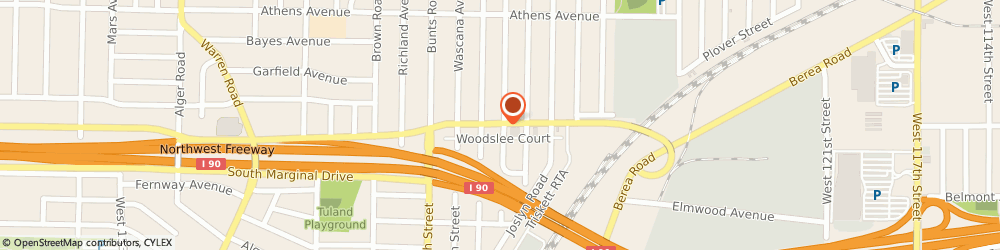 Route/map/directions to Midas Auto Service Experts, 44107 Lakewood, STREET