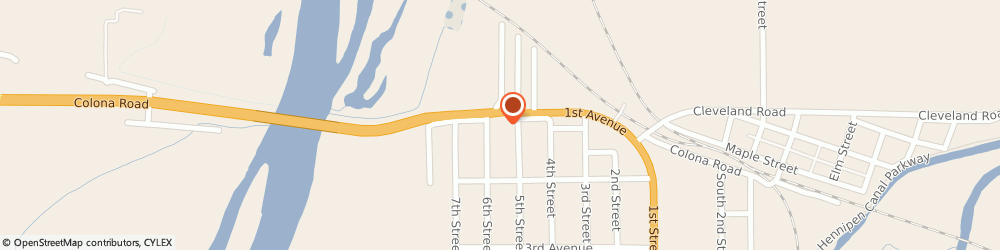 Route/map/directions to Pizza Hut, 61241 Colona, 508 1st Ave