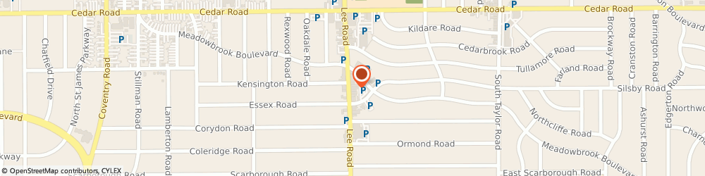 Route/map/directions to York Dealer, 44118 Cleveland, 2277 Lee Road
