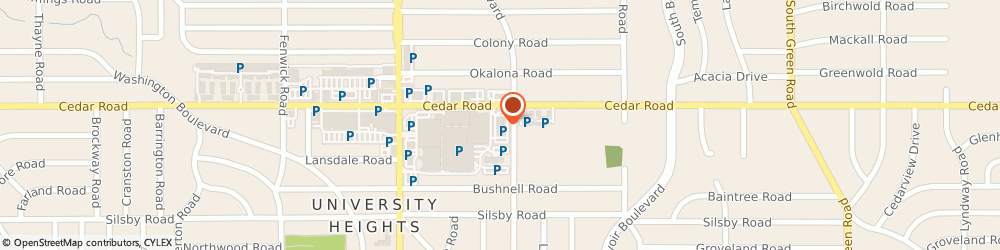 Route/map/directions to Get DNA Tested Today, 44121 Cleveland, 14100 Cedar Rd