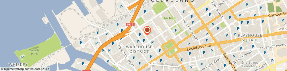 Route/map/directions to Marion Building, 44113 Cleveland, 1276 WEST 3RD STREET BSMT