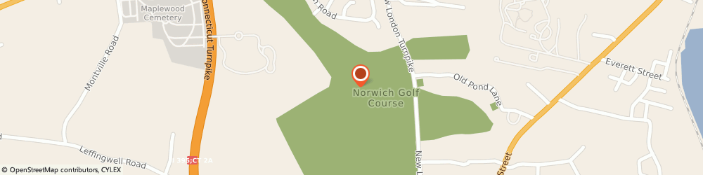 Route/map/directions to The Caddy Shack Cafe, 06360 Norwich, 685 New London Tpke
