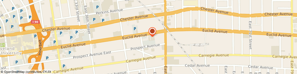Route/map/directions to Farmers Insurance Cleveland, May Cauley, 44103 Cleveland, 5000 EUCLID AVE STE 301