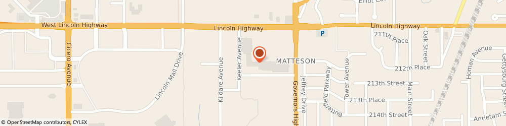 Route/map/directions to H&R Block, 60443 Matteson, 4163 W 211th St