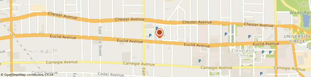 Route/map/directions to Radio Shack, 44103 Cleveland, 8061 Euclid Ave