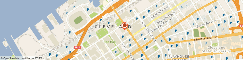 Route/map/directions to U.s. Department Of Veterans Affairs - Cleveland Regional Office, 44199 Cleveland, A.J. CELEBREZZE FEDERAL BUILDING, 1240 EAST 9TH STREET