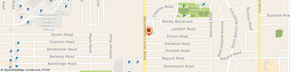Route/map/directions to The Bagel Shoppe, 44121 Cleveland, 1982 Warrensville Center Rd