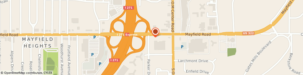 Route/map/directions to Firestone Retailer, 44124 Mayfield Heights, 6590 Mayfield Road