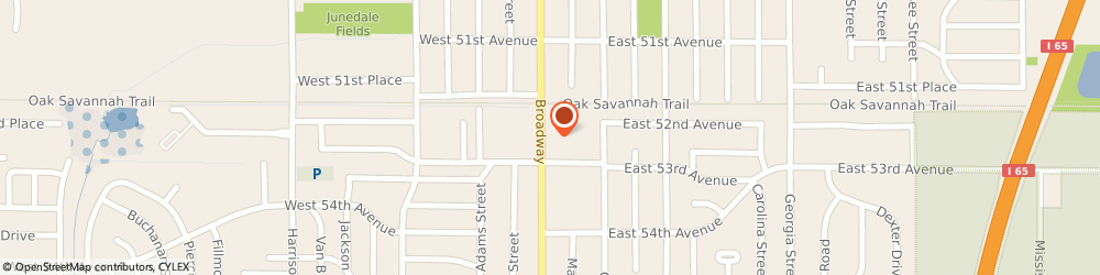 Route/map/directions to STATE FARM Sharon Chambers, 46410 Gary, 5275 Broadway