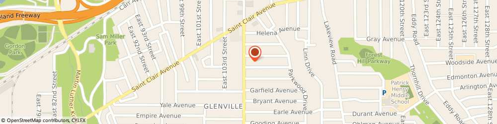 Route/map/directions to American Legion Post 315, 44108 Cleveland, 769 E 105Th St