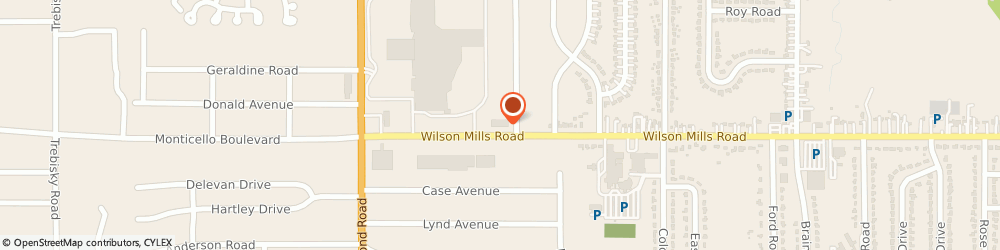 Route/map/directions to Safeco Insurance Agent, 44143-3016 Richmond Heights, 5247 Wilson Mills Rd # 402