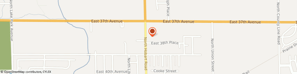 Route/map/directions to American Family Insurance- Ken West, 46342 Hobart, 703 N HOBART RD