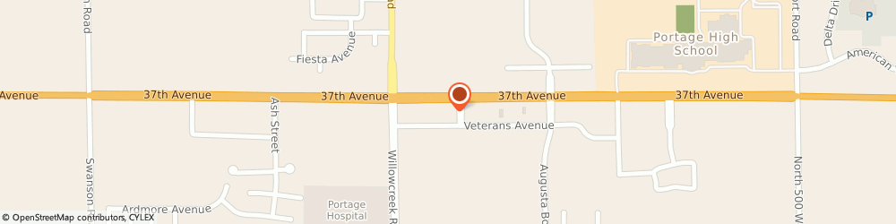 Route/map/directions to McDonald's, 46368 Portage, 6075 US Hwy 6