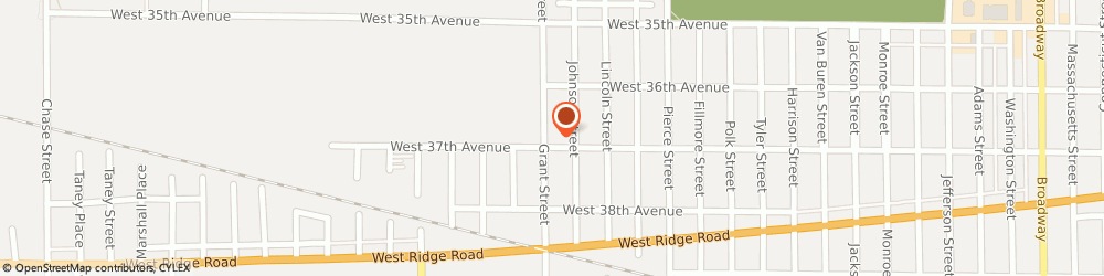 Route/map/directions to STATE FARM James Harris, 46408 Gary, 3685 Grant Street