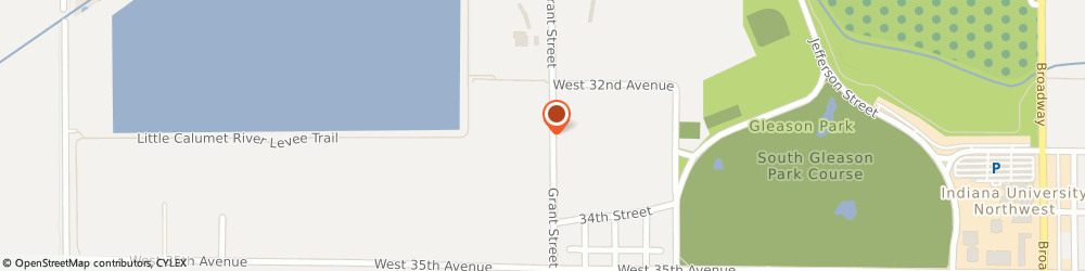 Route/map/directions to American Family Insurance - Agents, Gary, Davis Billy Jr, 46408 Gary, 3270 Grant St