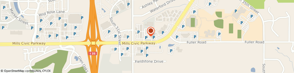 Route/map/directions to Dave Bondura - Financial Advisor, 50265 West Des Moines, 4885 Mills Civic Parkway