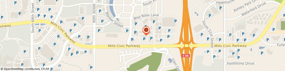 Route/map/directions to TigerLily STEM, 50266 West Des Moines, 5525 Mills Civic Parkway