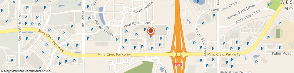 Route/map/directions to Power Life Yoga Barre Fitness, 50266 West Des Moines, 5465 Mills Civic Parkway