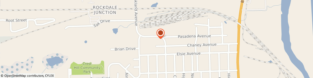 Route/map/directions to Agent For Allied Van Lines, 60435 Crest Hill, 2055 OAKLAND AVENUE