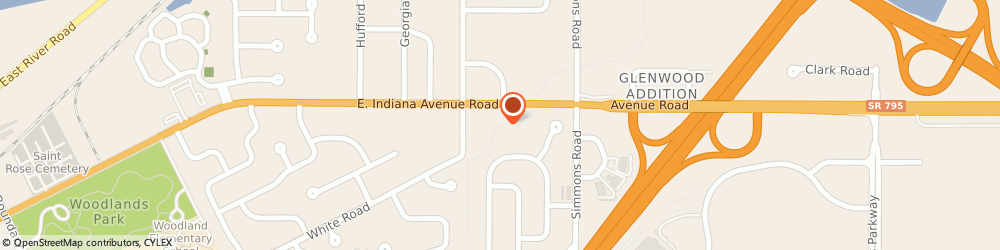 Route/map/directions to Perrysburg Alliance Church, 43551 Perrysburg, 10401 AVENUE ROAD